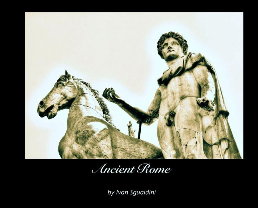 Ancient Rome libro di fotografia - copertina