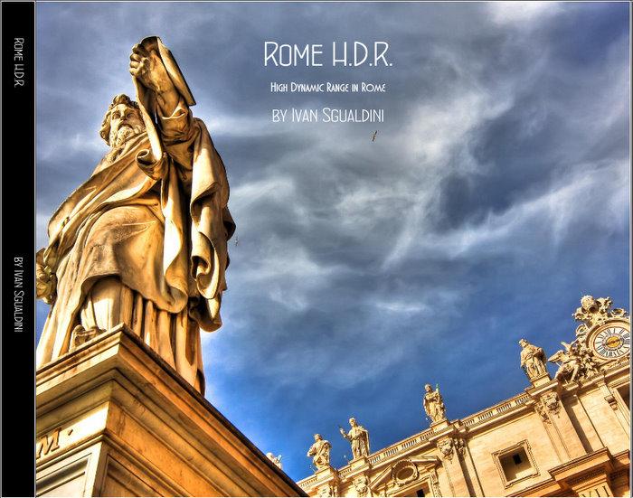 Libro fotografico di Roma H.D.R. - copertina